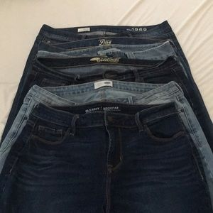 Size 12 Petite Lot of Gap and Old Navy Jeans!